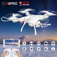 SYMA司马X8PRO大型 GPS实时航拍无人机飞行器 遥控飞机 X8Pro