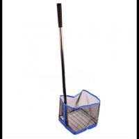 乒乓球捡球器发球机集球网多球筐练球器捡球网筐 蓝网筐 捡球器