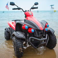儿童电动车四轮双驱动摩托玩具车可坐人小孩汽车越野童车