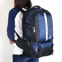 新款大容量户外登山包男女背包多功能旅行双肩包旅游行背