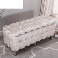 实木服装店储物凳试鞋凳收纳凳小沙发欧式凳布艺长条沙发凳换鞋凳