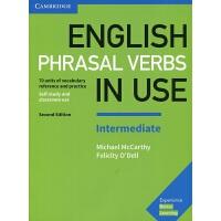 剑桥中级英语短语动词 配答案 英文原版English Phrasal Verbs in Use Intermediate