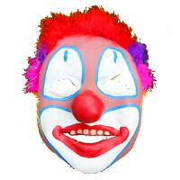 万圣节化妆舞会表演出用品道具恐怖乳胶搞怪搞笑鬼脸小丑面具装扮