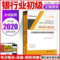 中公教育2020银行业专业人员初级职业资格考试:公司信贷(考点精讲+历年真题全真模拟)2本套