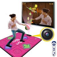单人按摩环保加厚高清跳舞毯 摄像头切水果网桥乒乓球体感游戏机 电视电脑两用跳舞机