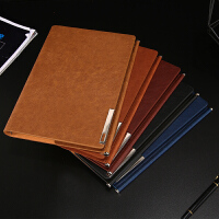 A5商务活页笔记本文具加厚学生皮面日记本随身便携小本子工作手册礼品套装本子