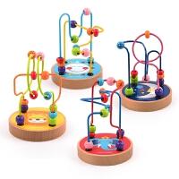 弥鹿(mideer) 儿童玩具串珠玩具婴儿手抓玩具益智0-3岁绕珠游戏宝宝益智