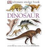 【预订】Ultimate Sticker Book: Dinosaur