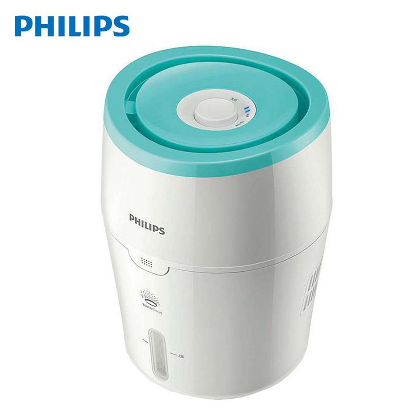 飞利浦空气加湿器家用静音冷蒸发无雾卧室小型办公室大容量HU4801 家电自营
