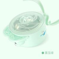 婴幼儿注水保温碗宝宝吸盘碗不锈钢儿童餐具吸盘碗