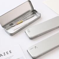 韩版创意马口铁文具盒小清新多功能铁盒小学生男铅笔盒文具收纳盒