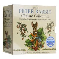 彼得兔经典故事5册盒装 英文原版 The Peter Rabbit Classic Collection 儿童英语启蒙纸板书 英文版原版书籍 进口正版
