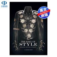 英文原版 迈克尔杰克逊衣着风格 时尚艺术书 精装 Dressing Michael Jackson 时尚之王 MJ 风格