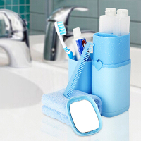 旅行洗漱杯牙刷牙膏便携套装 出差旅游用品收纳包洗漱包女男