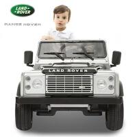 路虎 儿童电动车四轮越野车童车宝宝遥控汽车小孩玩具车可坐人
