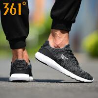 361男鞋夏季新款运动鞋361度学生网面透气跑鞋男士轻便软底跑步鞋