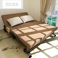ZUCZUG折叠床单人 双人午睡床躺椅午休床 简易床沙发床隐形床