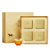 八马茶叶 武夷原产地金骏眉红茶工夫红茶茶叶礼盒装160g
