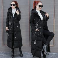 长款羽绒女装冬季新款时尚超长棉袄外套宽松加厚过膝棉衣