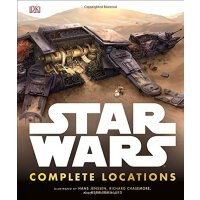 现货 英文原版 Star Wars Complete Locations 星球大战 电影场景完全解析 EP1-EP7