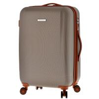 箱子拉杆箱万向轮双层防爆拉链箱可扩展行李箱撞色硬箱男女旅行箱