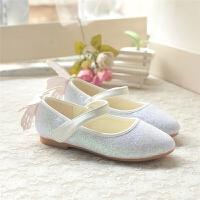 春秋季韩版儿童皮鞋宝宝小单鞋时尚软底女公主学生豆豆鞋