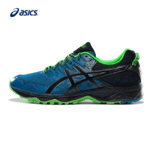 ASICS亚瑟士新款耐磨透气跑鞋户外越野跑步鞋男运动鞋T724N-0193