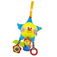 LALABABY/拉拉布书 星星熊八音琴 婴儿车挂件音乐早教挂饰宝宝床头挂件