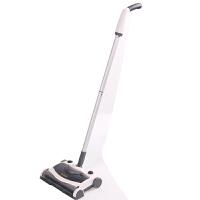 懒人扫地机手推式电动扫把拖把家用自动拖地一体神器笤帚簸箕套装 土豪银-直柄款 手杆中间不可弯曲