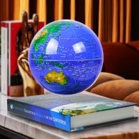 磁悬浮地球仪发光8寸自转悬浮创意生日礼品摆件办公室摆件工艺品