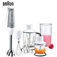 德国博朗(Braun)料理机搅拌器 原装进口家用多功能手持式打蛋婴儿辅食搅拌机榨汁机料理棒 MQ545