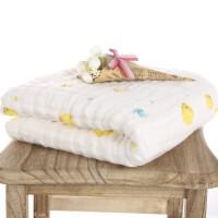 婴儿浴巾纱布宝宝浴巾新生儿洗澡盖毯毛巾被加厚加大柔软吸水