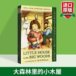 大森林里的小木屋 英文原版 全彩插画本 Little House in the Big Woods 小木屋故事系列1