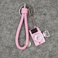 创意迷你复古单反相机钥匙扣挂件小礼品手机包包挂饰品汽车钥匙链