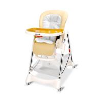 宝宝餐椅婴儿吃饭座椅座椅儿童便携可折叠多功能小孩学坐椅子a164 +置物篮+棉垫
