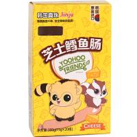 韩国真珠 悠猴芝士鳕鱼肠 婴幼儿宝宝儿童进口零食营养辅食300g