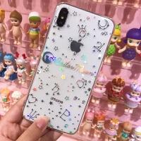 美少女战士iphoneXS MAX月野兔苹果7/8plus/XR镭射少女心手机软壳