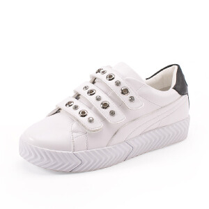 如熙2017秋季新款单鞋小白鞋女鞋板鞋运动鞋休闲鞋百搭平底鞋