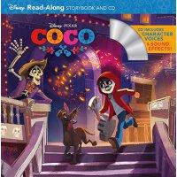 【现货】Coco Read-Along Storybook and CD 英文原版 寻梦环游记 迪士尼绘本有声读物 书