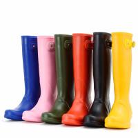 水鞋女高筒ins超火夏季防水雨靴女士胶鞋时尚水靴防滑户外高筒雨鞋女 TBP
