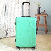 旅行箱20寸可爱行李箱万向轮拉杆箱男韩版24寸小清新密码箱女皮箱