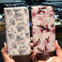 iphone8手机壳皮套苹果7plus翻盖保护套8plus浮雕创意女款碎花 /皮套 白图腾