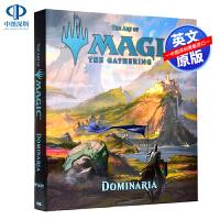 英文原版 万智牌:多明纳里亚 游戏设定集 The Art of Magic: The Gathering - Domin