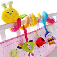 ?婴儿床铃安抚玩具0-3-6-12个月新生儿床绕男女孩床挂宝宝床头摇铃?