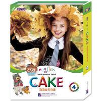 包邮 泡泡宝贝英语4(English Cake 4) (含故事书+活动手册+语音手册+MP3光盘) 新东方幼儿少儿教材