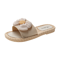 WARORWAR新品YM12-1836冬季韩版平底鞋舒适细密绒毛加厚加密女鞋潮流时尚潮鞋百搭潮牌毛毛包头拖鞋