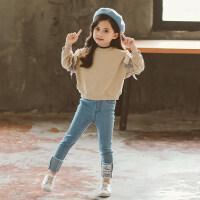 童装女童秋装套装2018新款儿童韩版时尚潮衣洋气中大童秋季两件套