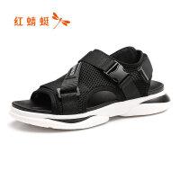【红蜻蜓抢购,抢完为止】红蜻蜓凉鞋时尚潮流韩版沙滩鞋潮男户外鞋运动休闲沙滩鞋