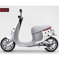 史努比小龟王电动摩托车贴纸 小绵羊踏板车可爱贴画 电车创意贴纸SN2793 (进口材料)