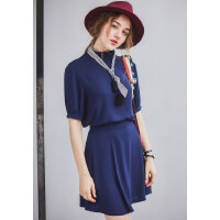[T81A-2]新款女士打底衫女装雪纺衫